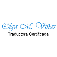 Logo Olga Viñas - Traductora Certificada